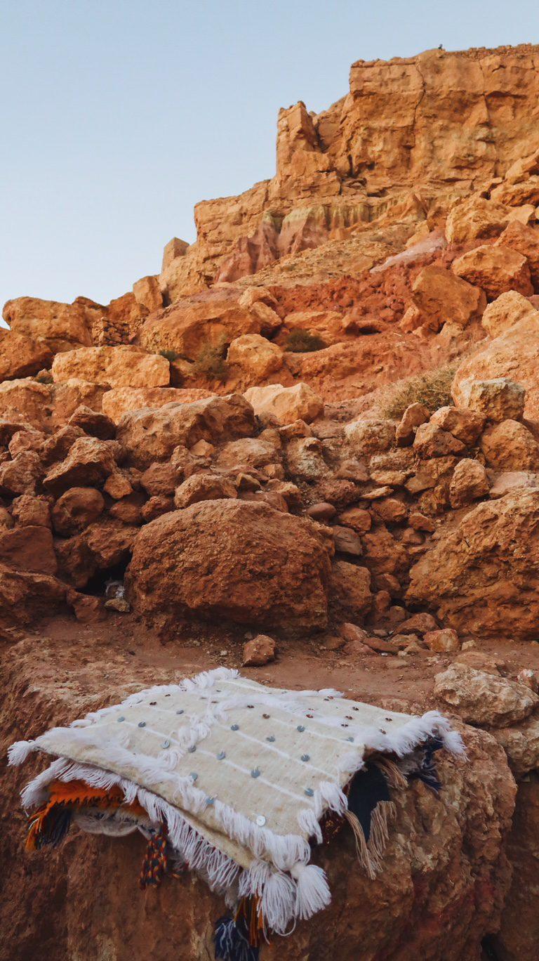 Voyage au Maroc Aït Ben Haddou, décoration coussin