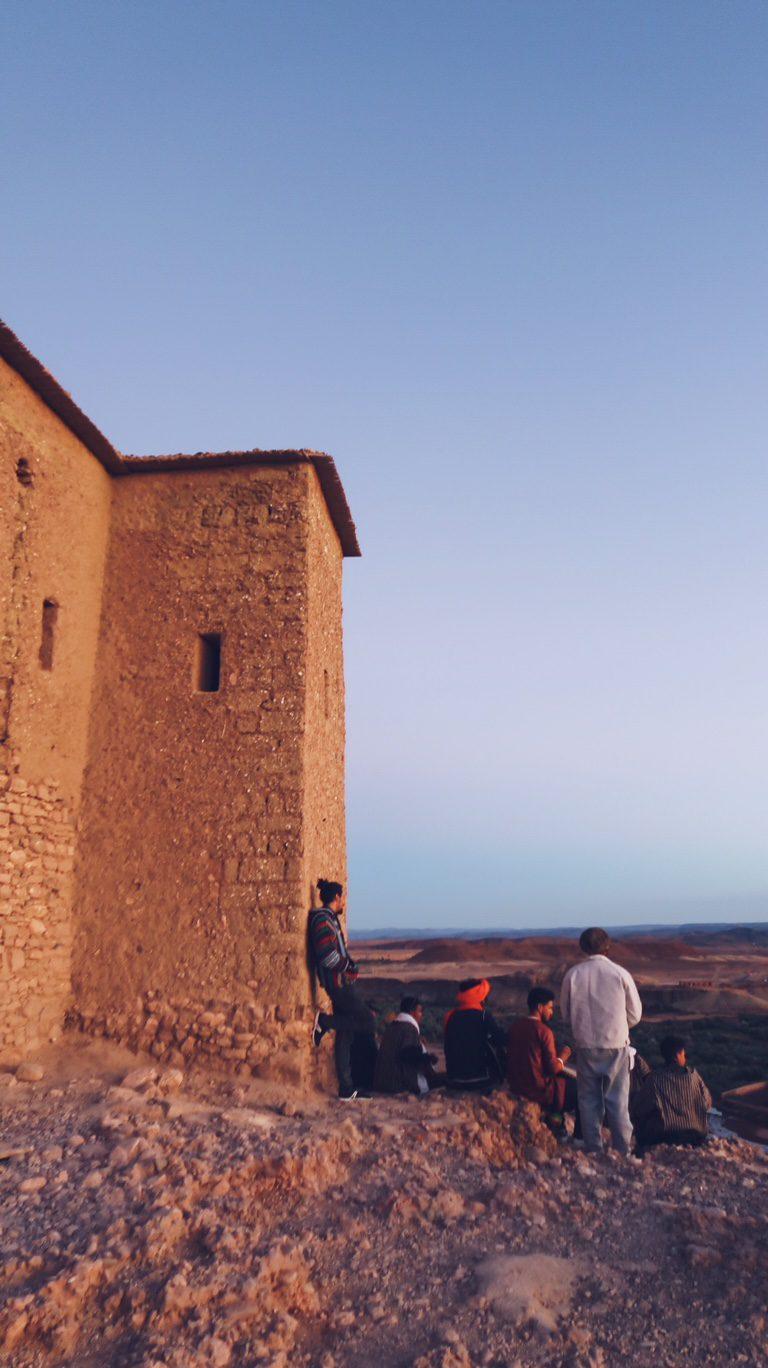 Voyage au Maroc Aït Ben Haddou, musiciens berbères