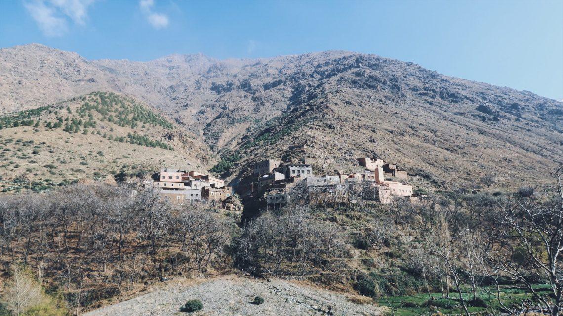 Voyage au Maroc route pour Imlil