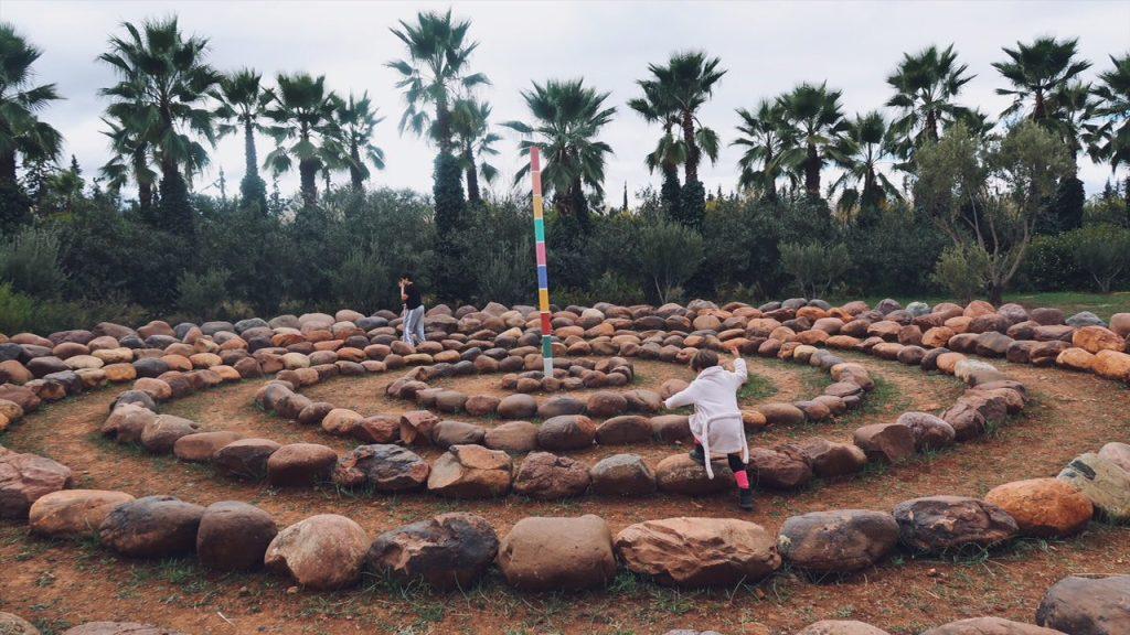 Voyage au Maroc andré heller garden