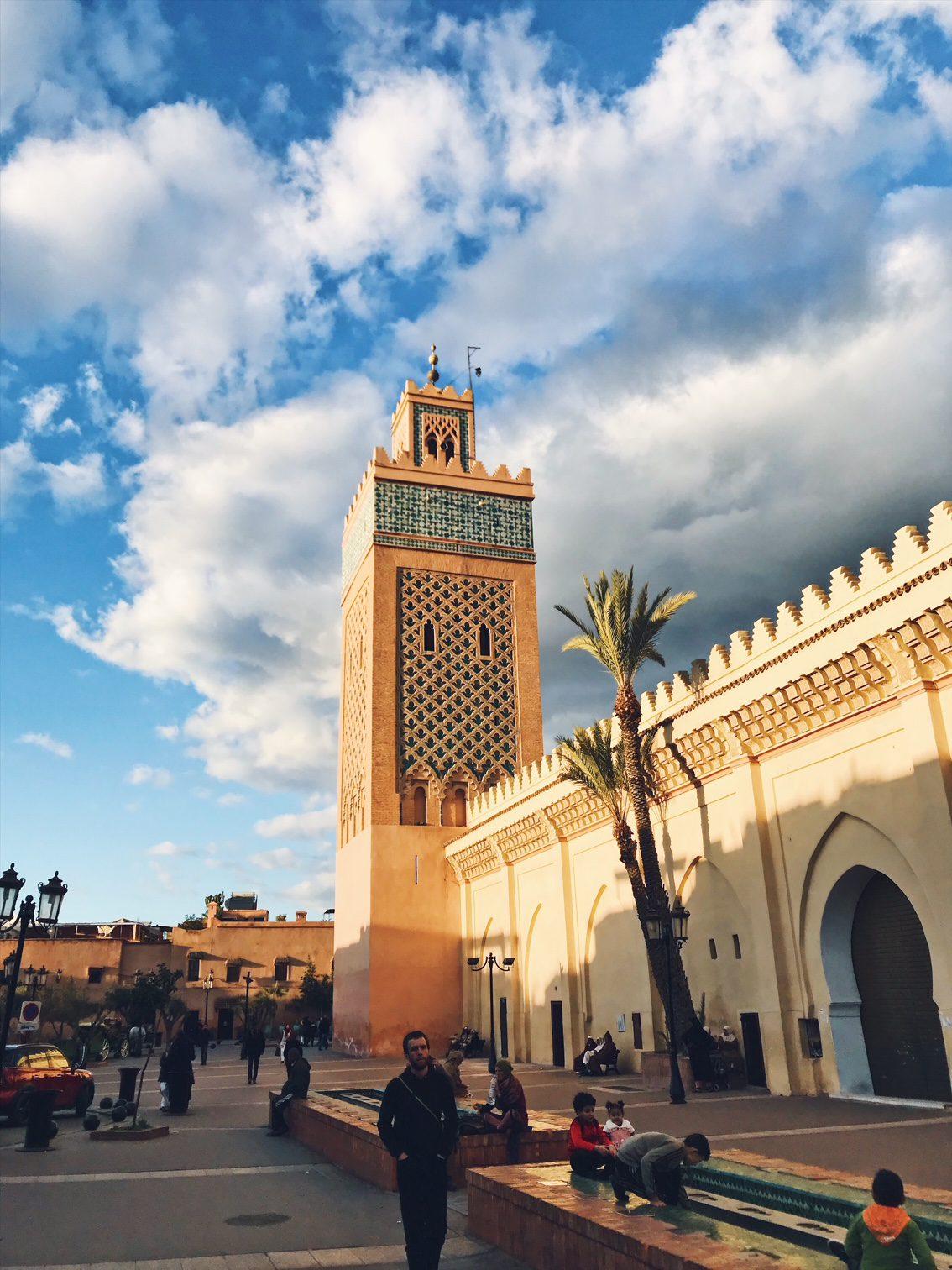 Voyage au Maroc Marrakech mosquée