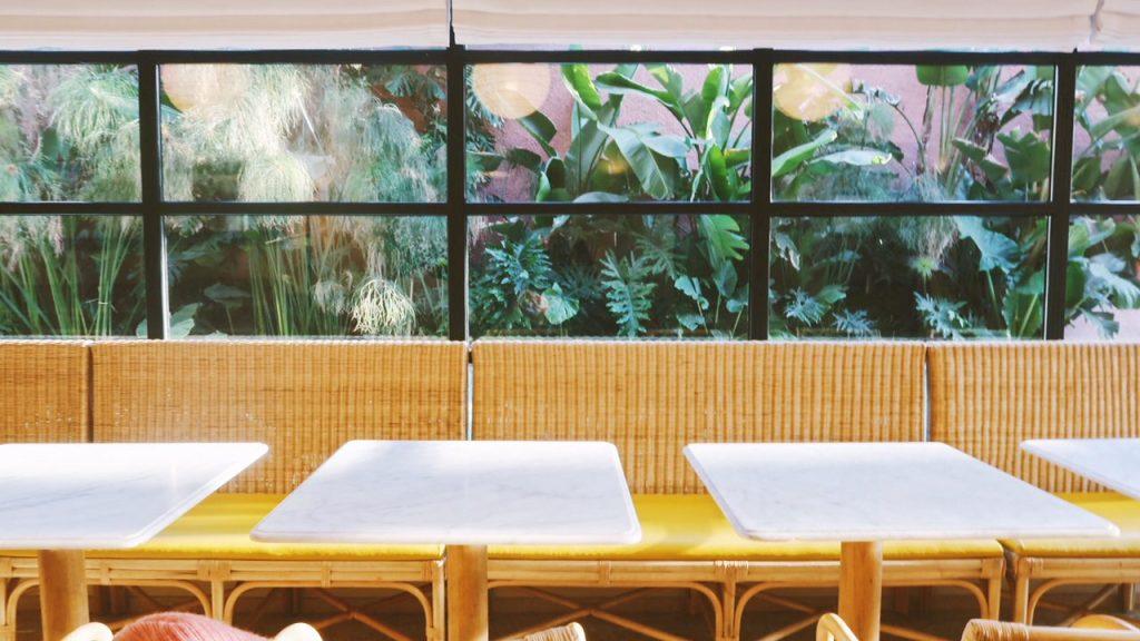 Voyage au Maroc Marrakech café du musée yves saint laurent