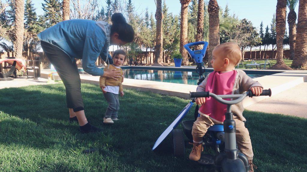 Voyage au Maroc Marrakech kenza et les enfants