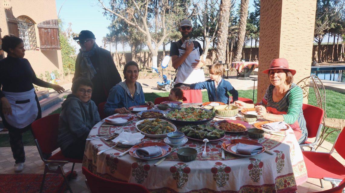 Voyage au Maroc Marrakech avec nos amis Kenza et la famille