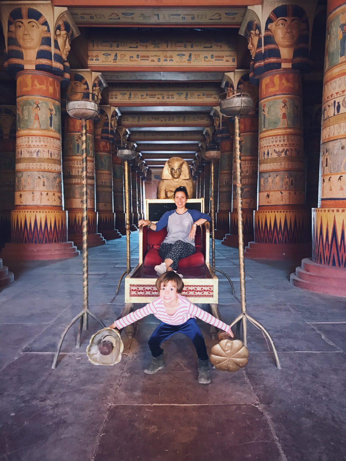Voyage au Maroc Ouarzazate, Atlas Studio, décor Egypte