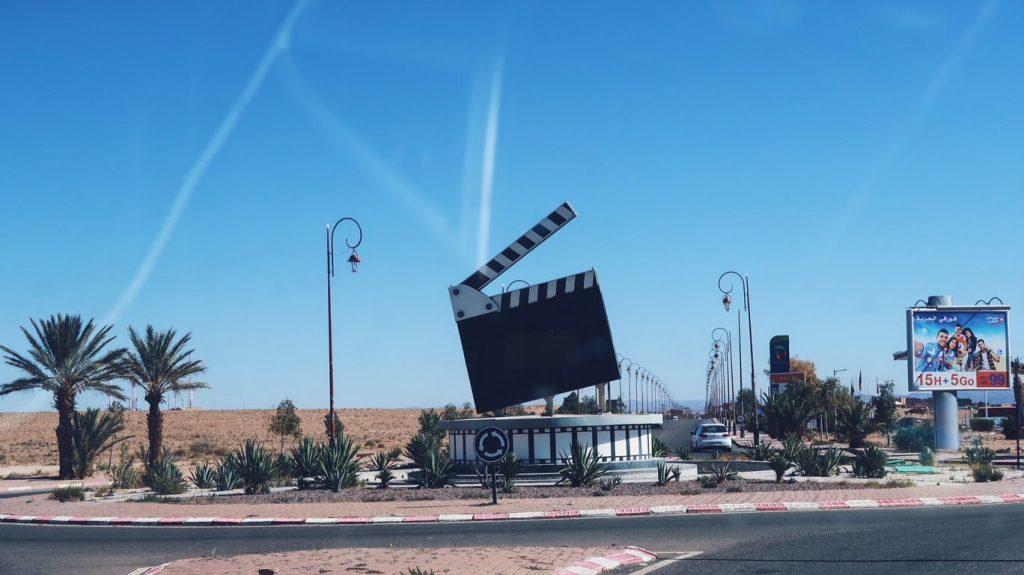 Voyage au Maroc Ouarzazate, film clap