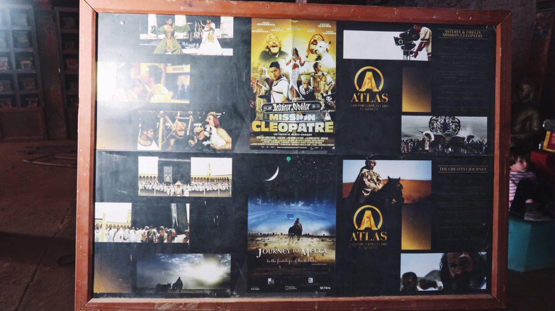 Voyage au Maroc Atlas Studios mission cleopatre