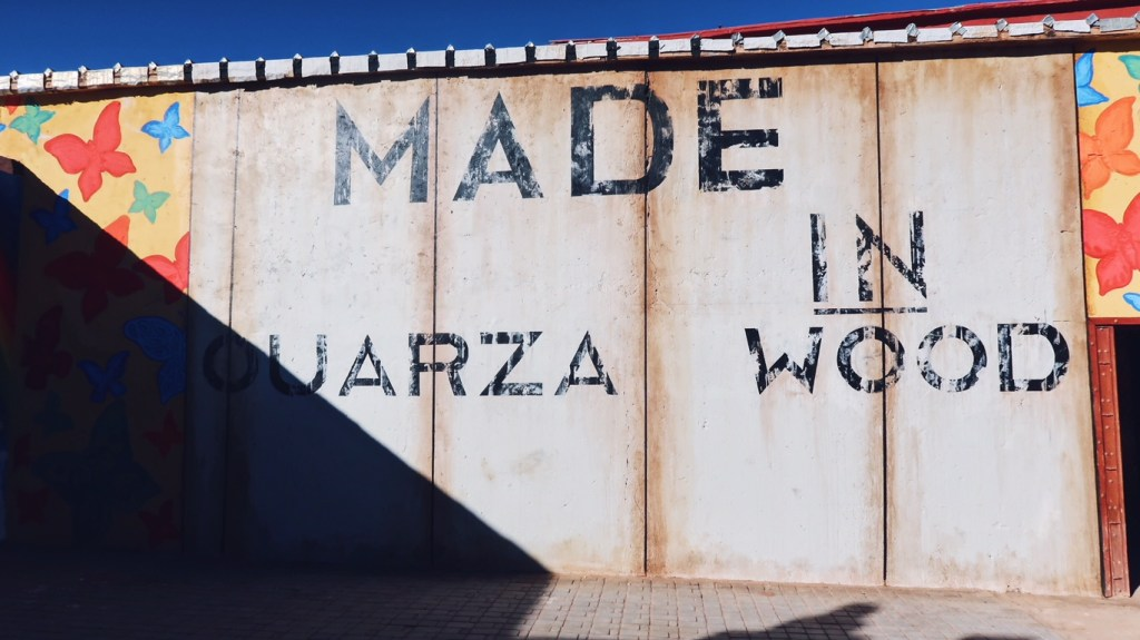 Voyage au Maroc Ouarzazate, Atlas Studio, made in ouarzawood