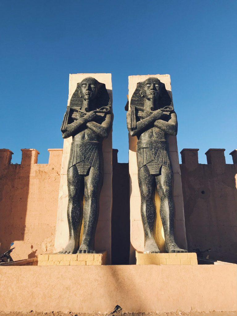 Voyage au Maroc Ouarzazate, Atlas Studio, egyptiens