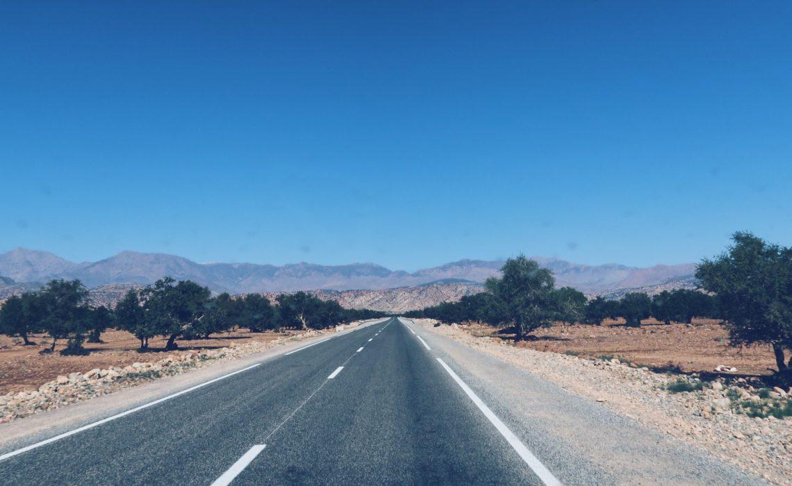 Voyage au Maroc Taroudant route
