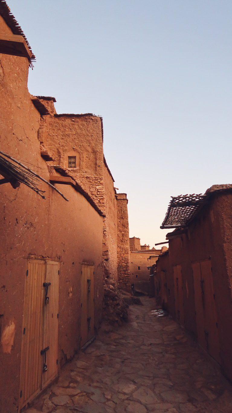 Voyage au Maroc Ait Ben Haddou, rue