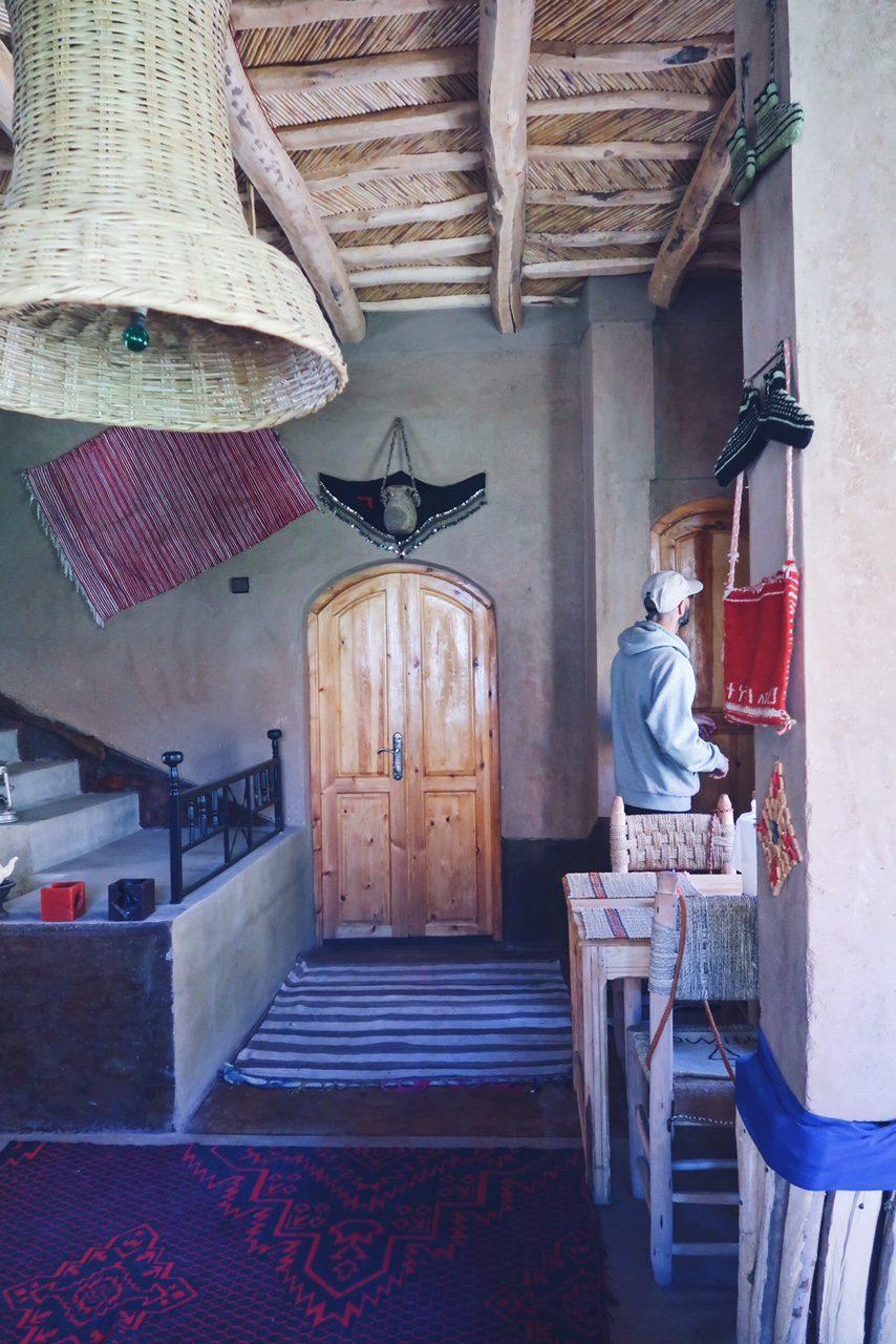 Voyage au Maroc Restaurant vallée du Dades