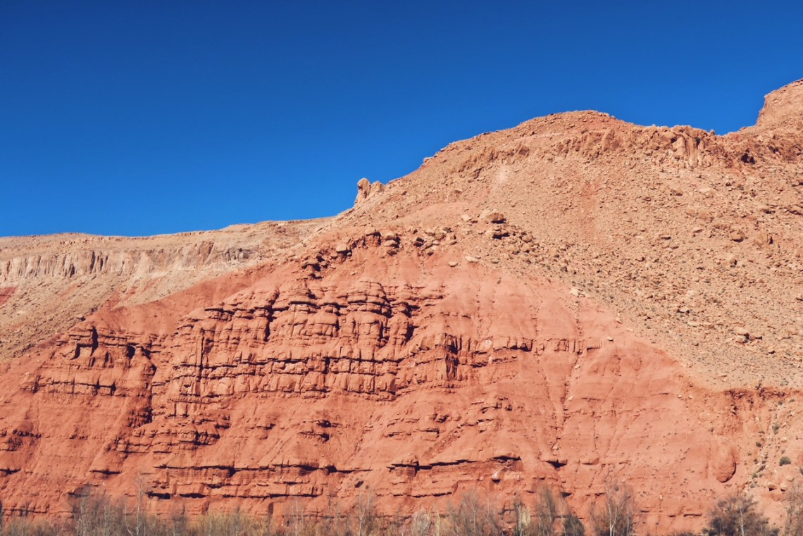 Voyage au Maroc vallée du Dades rochers