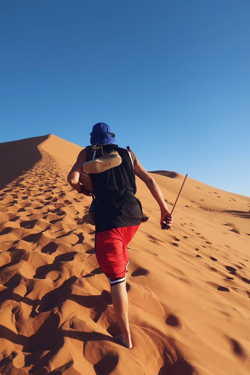 Voyage au Maroc désert de Sahara Merzouga ascension