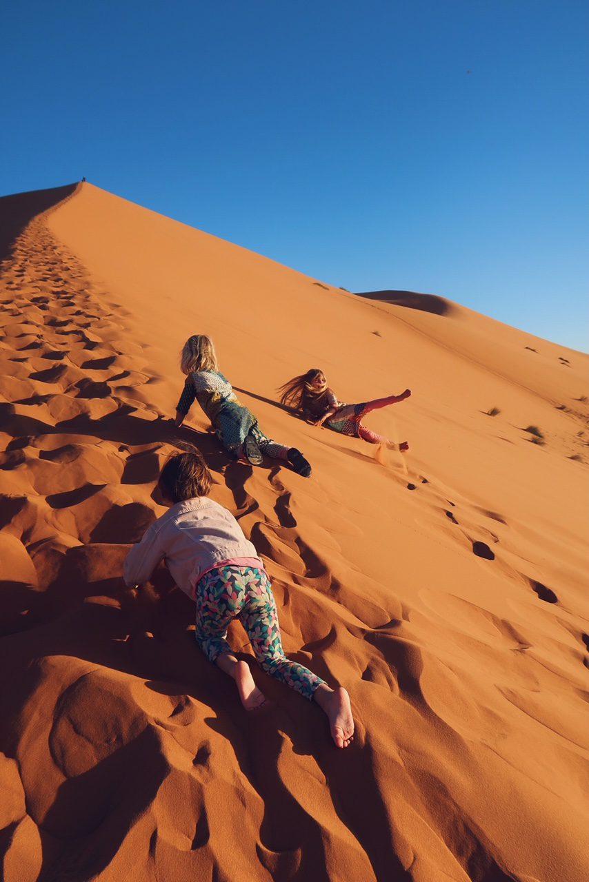 Voyage au Maroc désert de Sahara Merzouga la grande dune