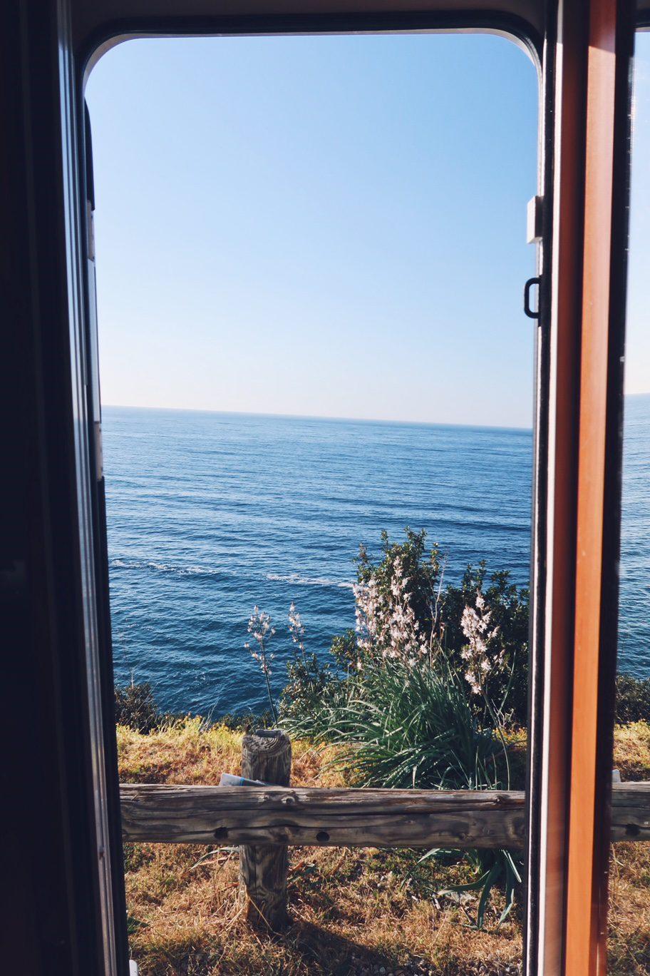Voyager à long terme en camping-car: le côté pratique vue splendide