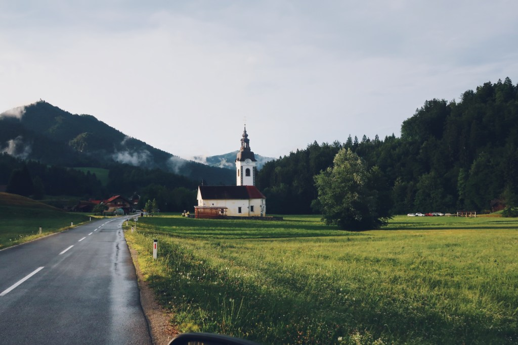 Une église en Slovénie