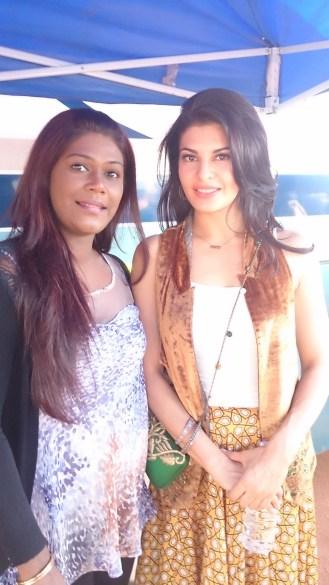Rachel with Jacqueline