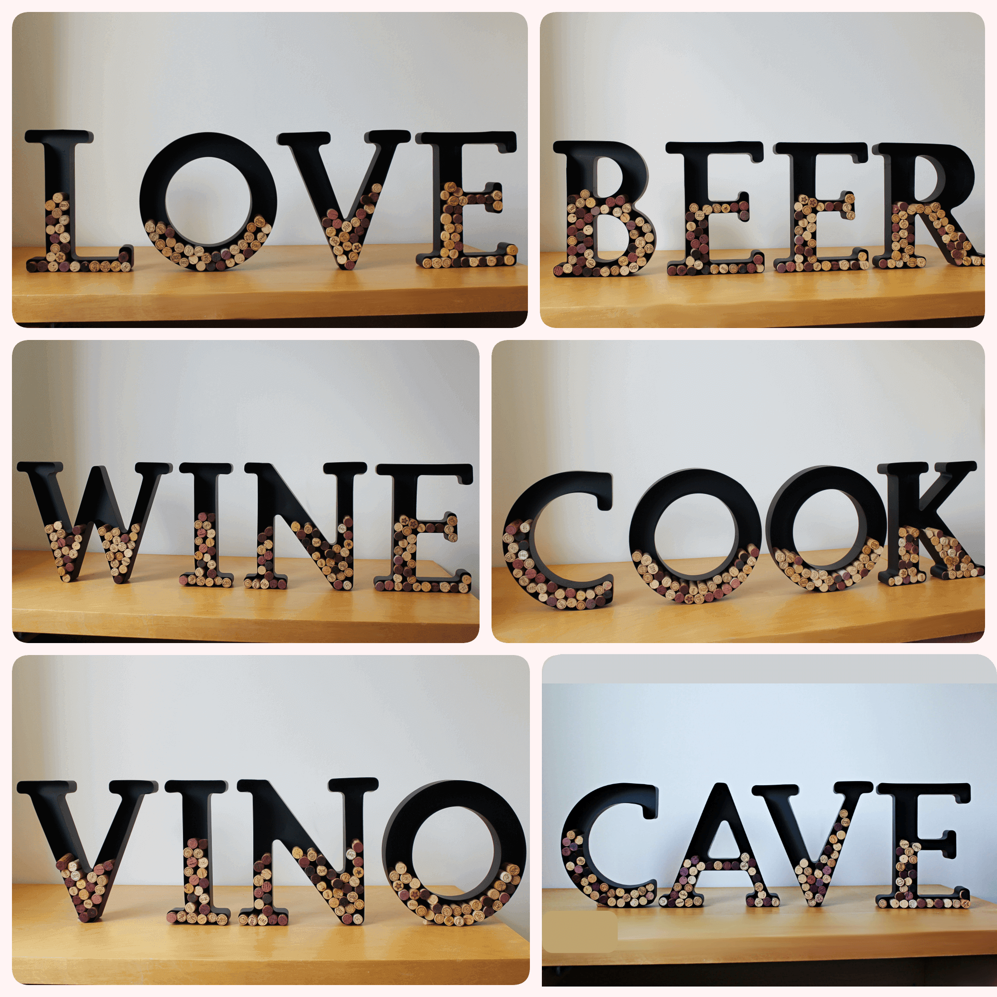Choose Your 4 Letters Word Lafavin Interior And Wine Related Decoration