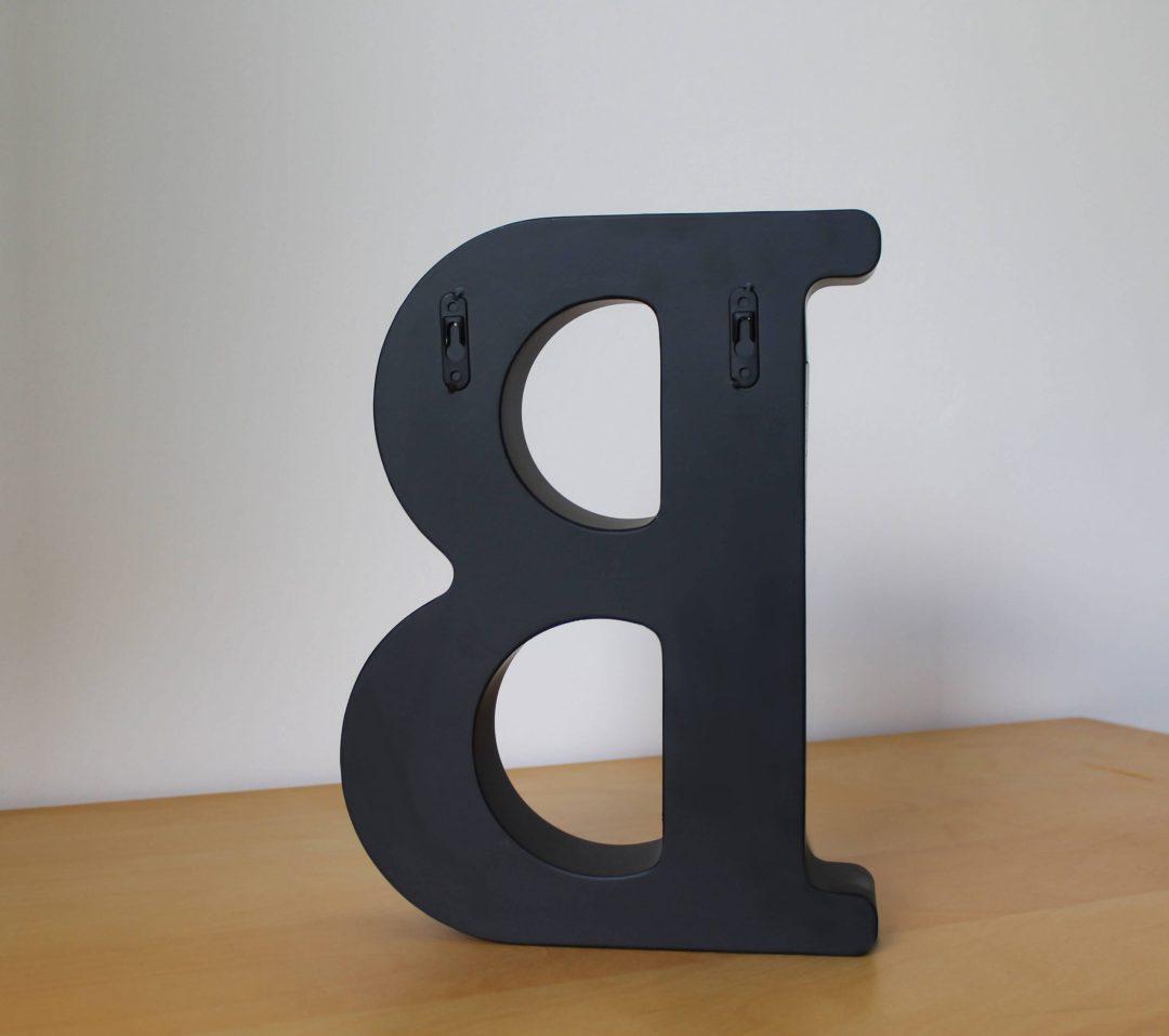 Lettre B porte bouchon