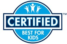Certified Best for Kids Label - Child Safety and Window Coverings - Lafayette and Home blog by Lafayette Interior Fashions