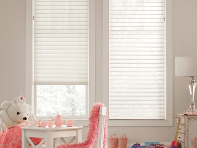 Tenera® Sheer Shadings with Sure-Lift™