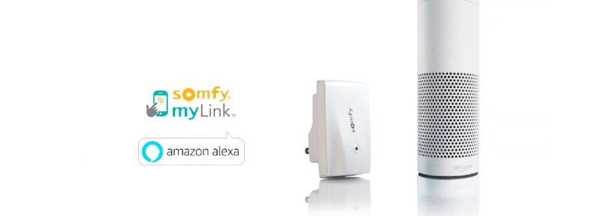 Somfy and Alexa Compatibility