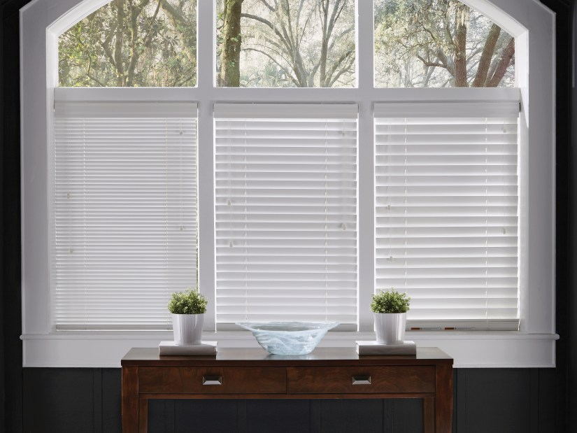 Wood Blinds come in 1, 2 and 2.5 inch slats