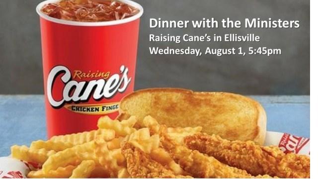 August 1 Chicken dinner