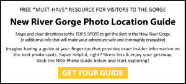New River Gorge Photo Location Guide