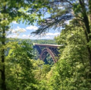 View of the New River Gorge Bridge