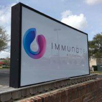 Immunotek-illuminated-sign