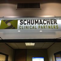 Schumacher interior sign-with custom illumination