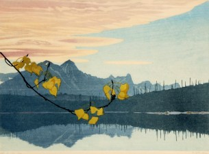 Leaf of Gold by Walter J. Phillips