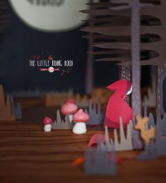 The Little Red Riding Hood by Griottes