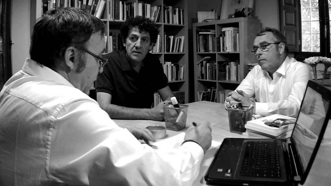 Los tres editores de la Fea Burguesía