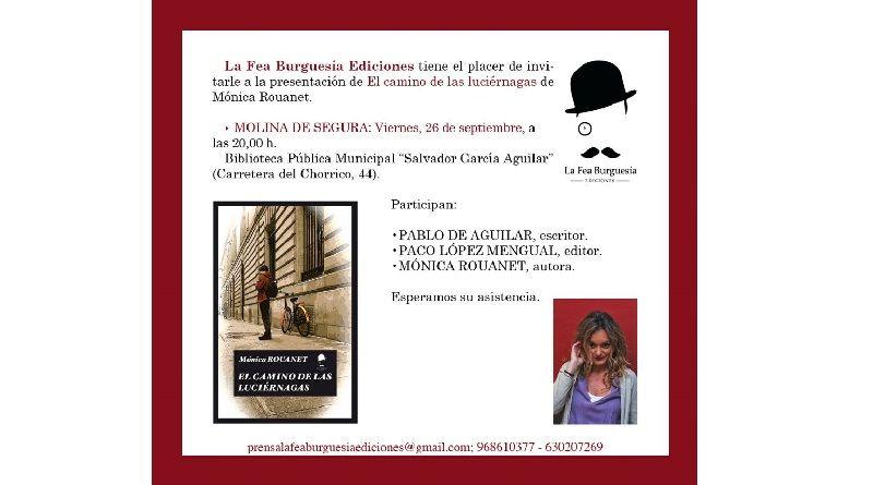 Presentación de El camino de las luciérnagas en Molina de Segura