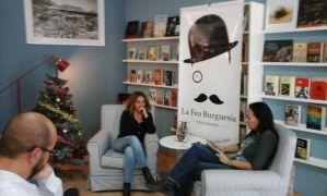 Presentacion de El camino de las luciérnagas en Altea: Ana Gutierrez Lanuza y Mónica Rouanet