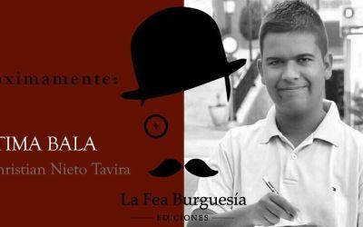 Próximo debut literario de Christian Nieto Tavira