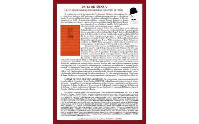 LA FEA BURGUESÍA EDICIONES INICIA SU COLECCIÓN DE POESÍA