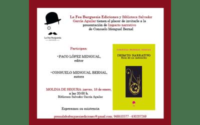 Libro Impacto narrativo de Consuelo Mengual: Presentación en Molina de Segura