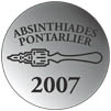 Absinthiades Silver medal to La Fée Absinthe 2007