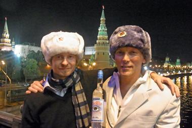 George Rowley & Oscar Dodd in Moscow
