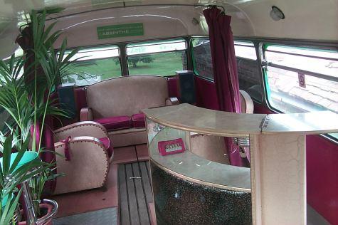 La Fée Bus interior