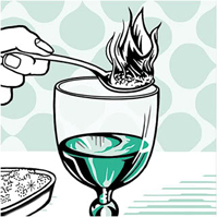 Bohemian absinthe serve