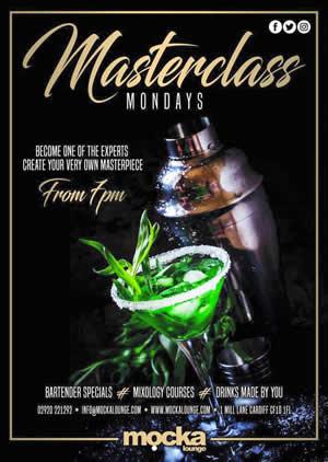 Masterclass at Mocka Cardiff