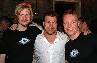 Oscar Dodd, Dan Eves of La Fée with Ted Breaux
