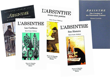 Pic of Absinthe books