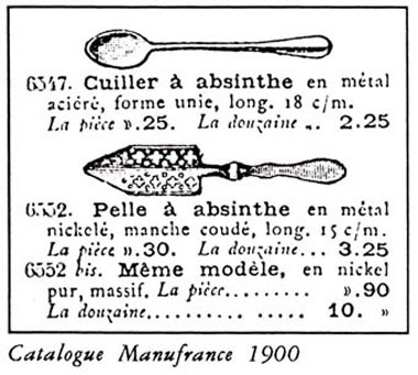 spoons from magazine circa 1900