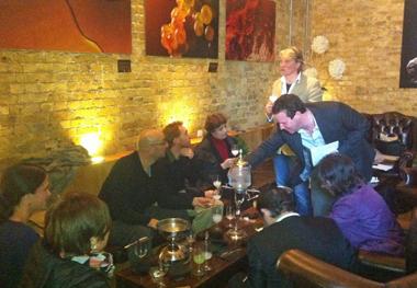 La Fée training at Vinopolis London